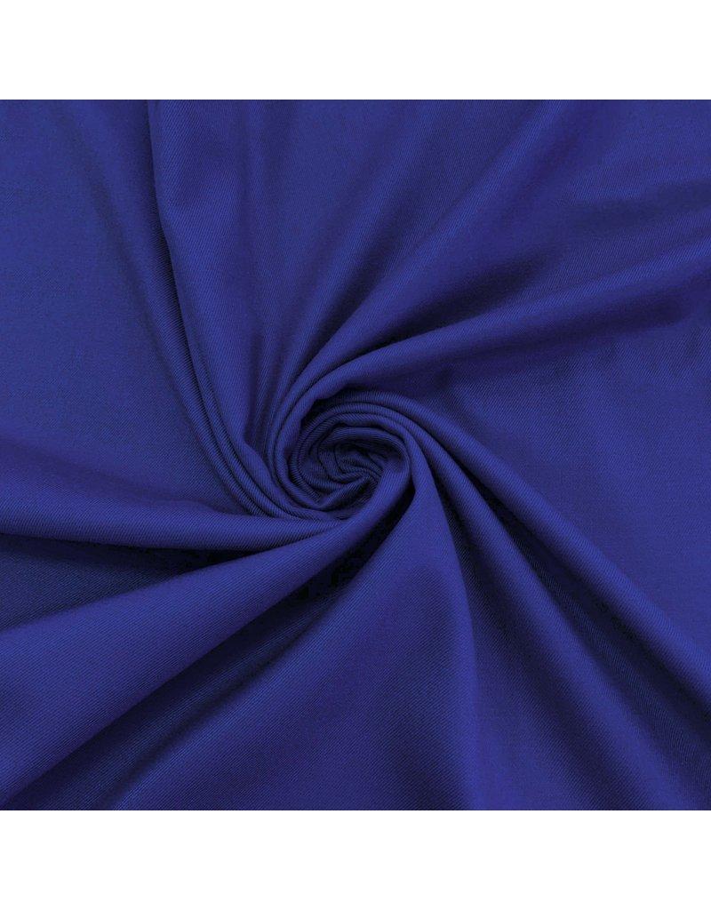 Bambus Gabardine Stretch BC16 - Kobaltblau