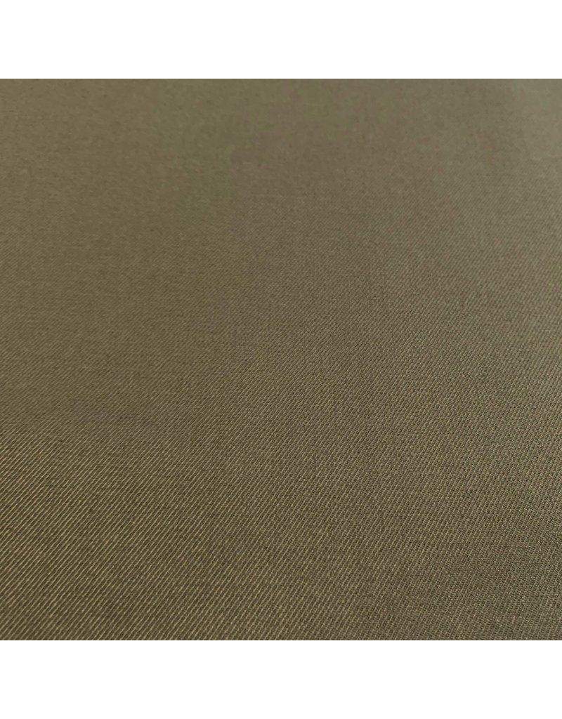 Gabardine de bambou Stretch BC18 - vert olive