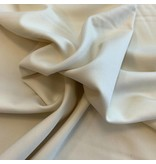 Bamboo Gabardine Stretch BC19 - blanc crème