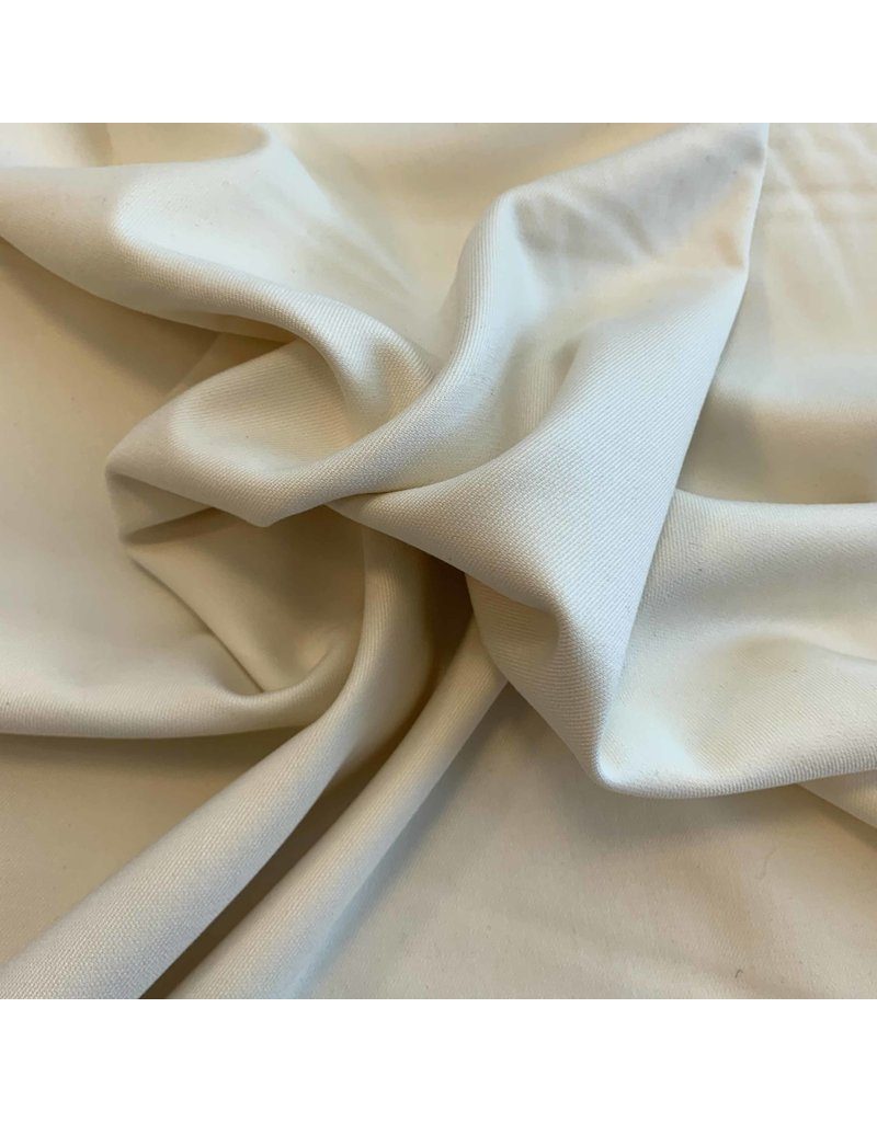 Bamboo Gabardine Stretch BC19 - creamy white