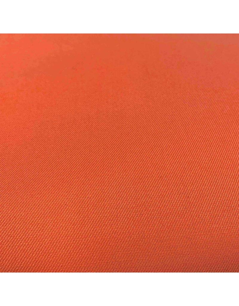 Bamboe Gabardine Stretch BC20 - burnt orange