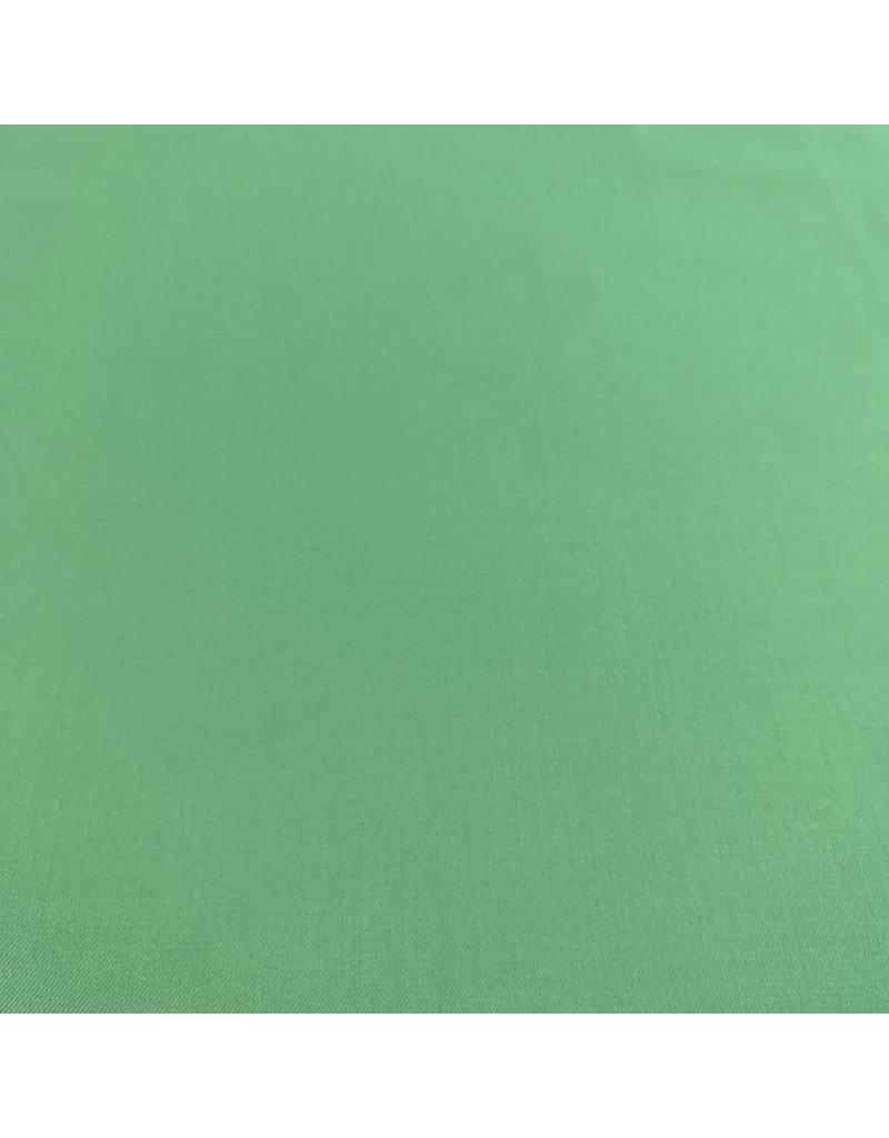 Bamboe Gabardine Stretch BC22 - soft smaragdgroen