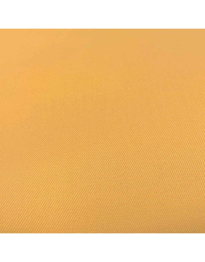 Bamboe Gabardine Stretch BC27-honing geel
