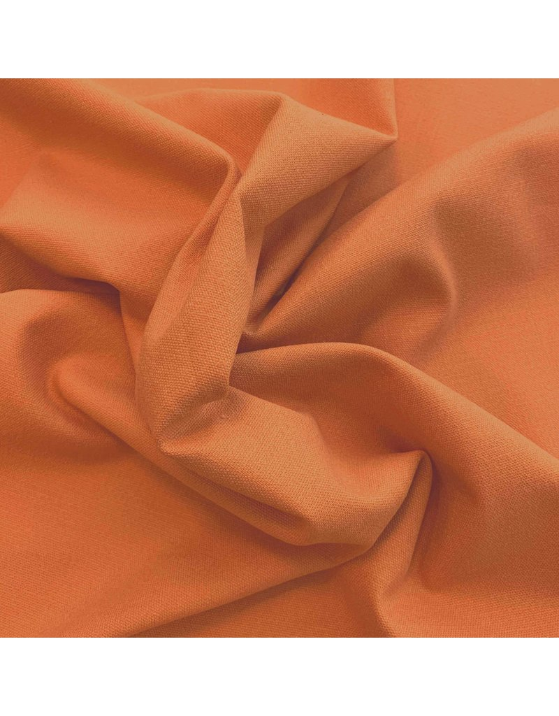 Stretch Linnen L35 - Burnt Orange