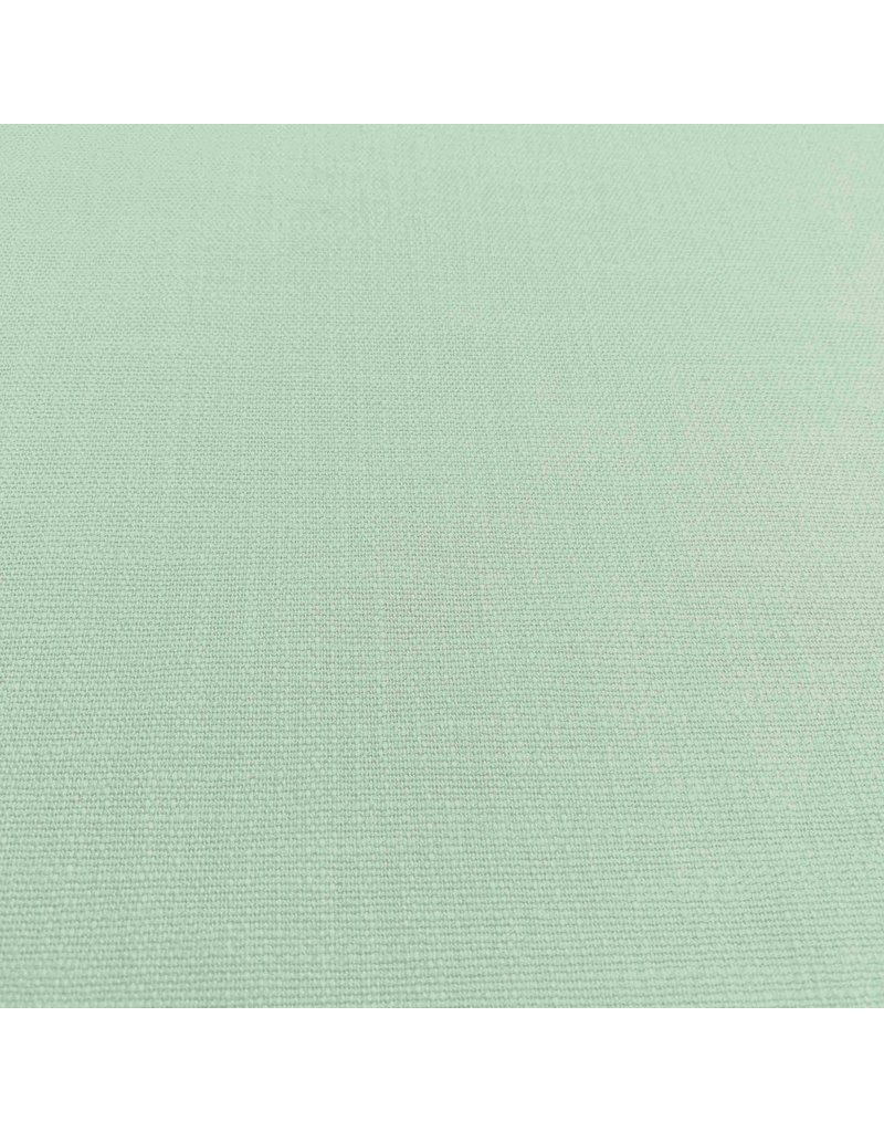 Stretch Linnen L36 - Pastel Groen