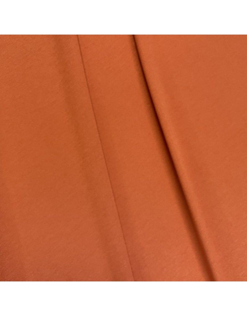 Jersey viscose VX77 - orange brûlé