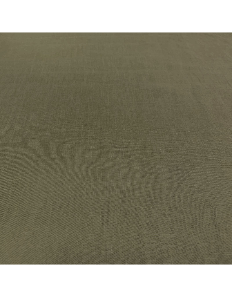 Linen Super Fine LV19 - olive green