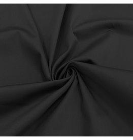 Satin Baumwolle Comfort Stretch SK30 - schwarz