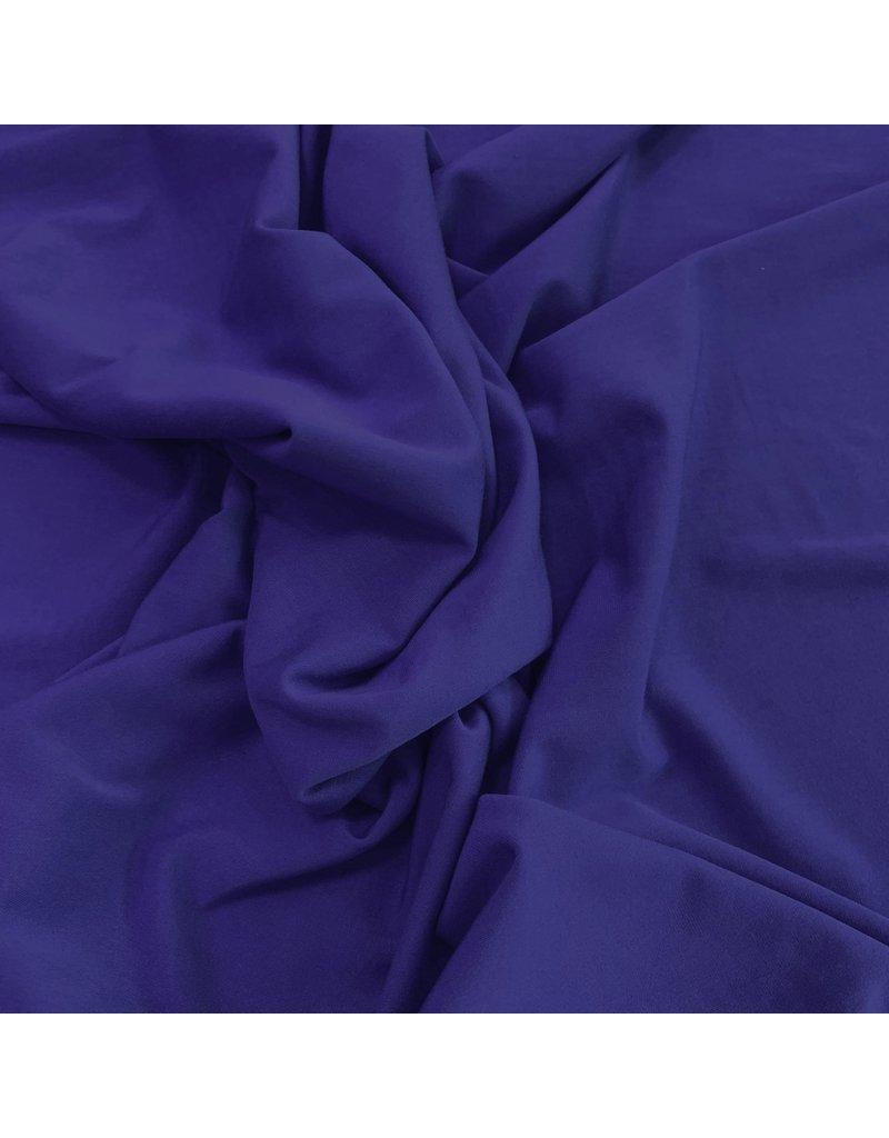 Bambus Jersey Uni BV02 - Kobaltblau