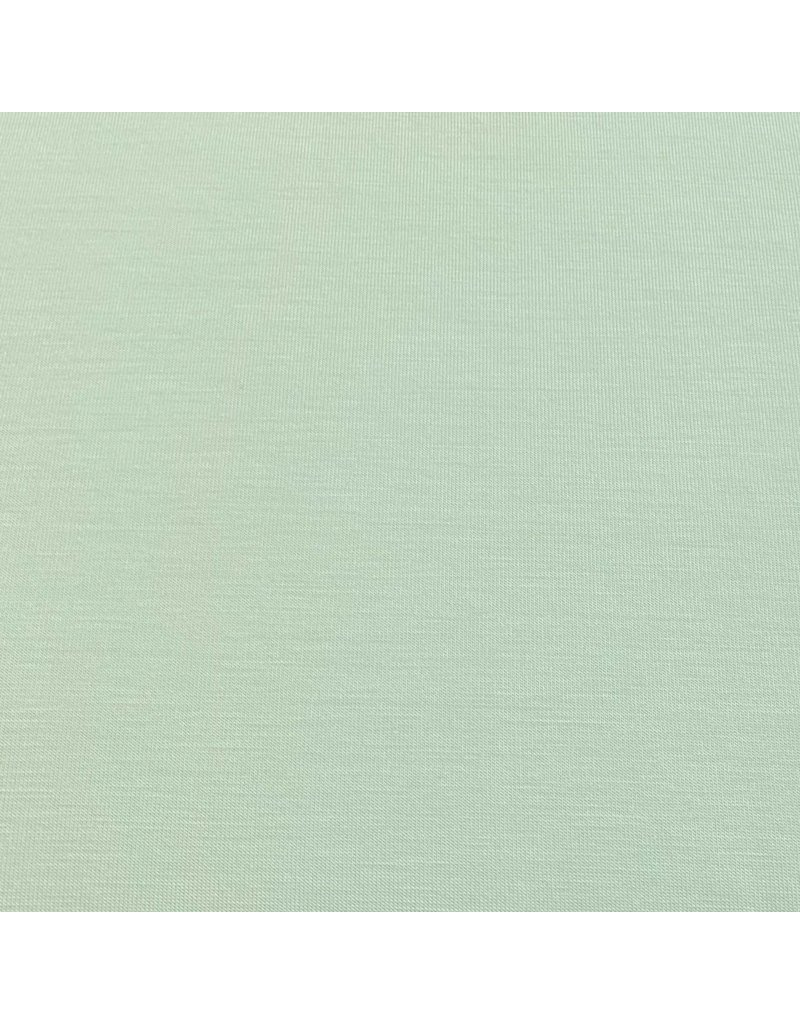 Bamboo Jersey Uni BV04 - vert poudre