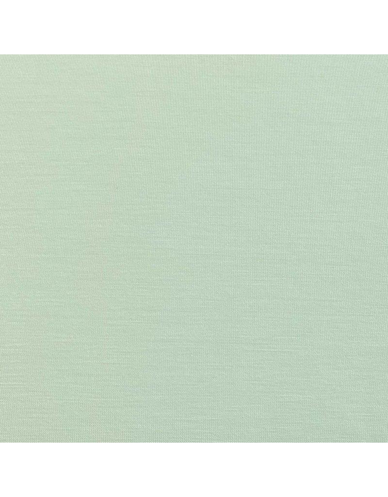 Bambus Jersey Uni BV04 - pudergrün