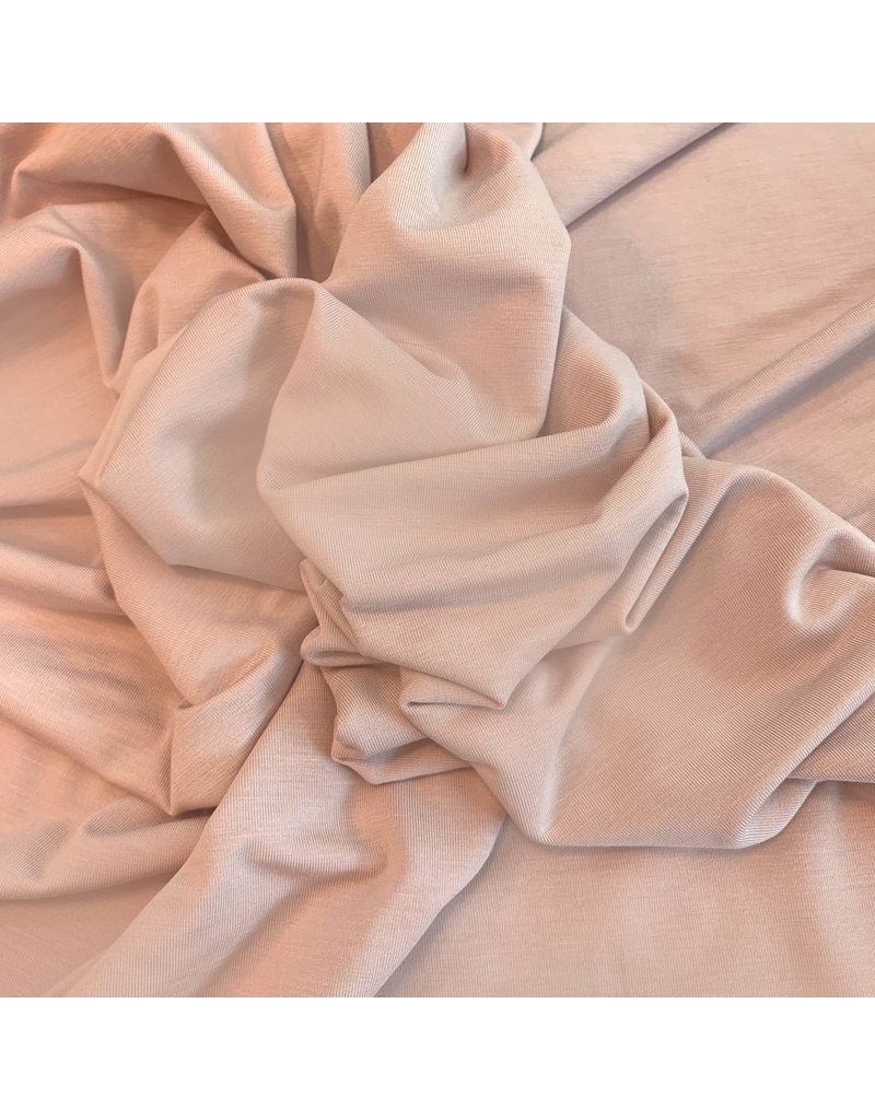 Bamboo Jersey Uni BV09 - powder pink