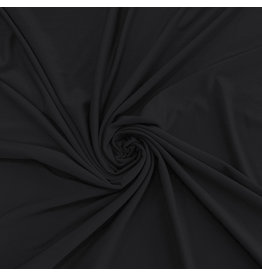 Bamboo Jersey Uni BV14 - zwart  !!wordt verwacht op 4 juli