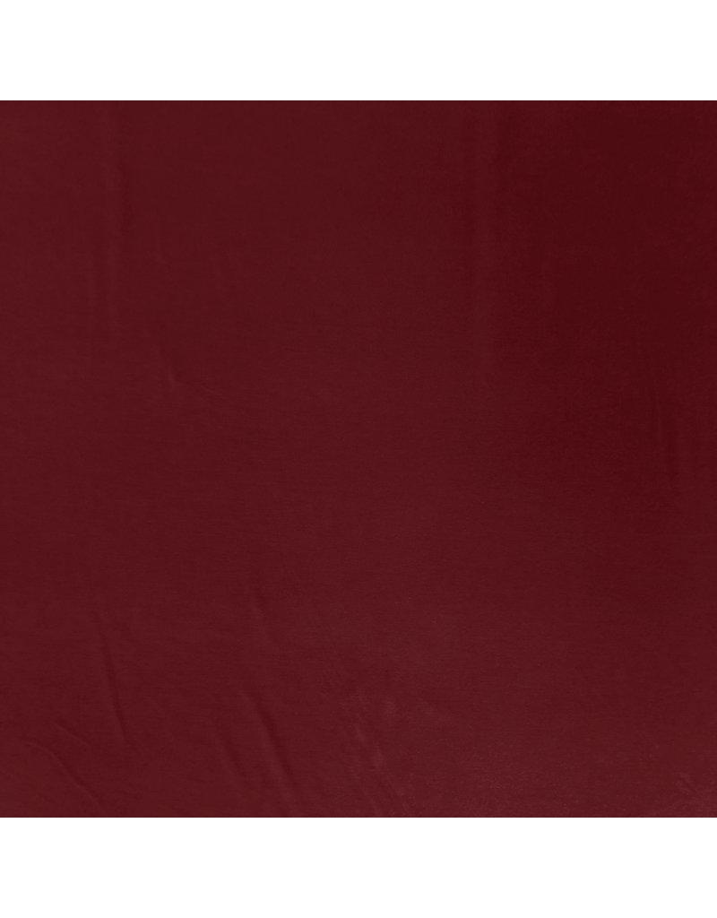 Jersey Bambou Uni BV21 - rouge foncé