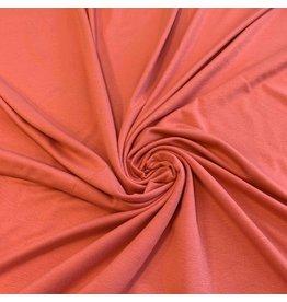 Viscose Jersey V82- coral pink