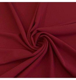 Crêpe Scuba CR05 - rouge foncé