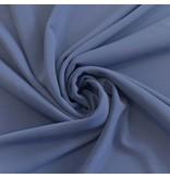 Scuba Crêpe CR17 - jeansblauw