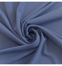 Scuba Crêpe CR17 - Jeansblau -