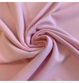 Crêpe Scuba CR19 - rose pâle