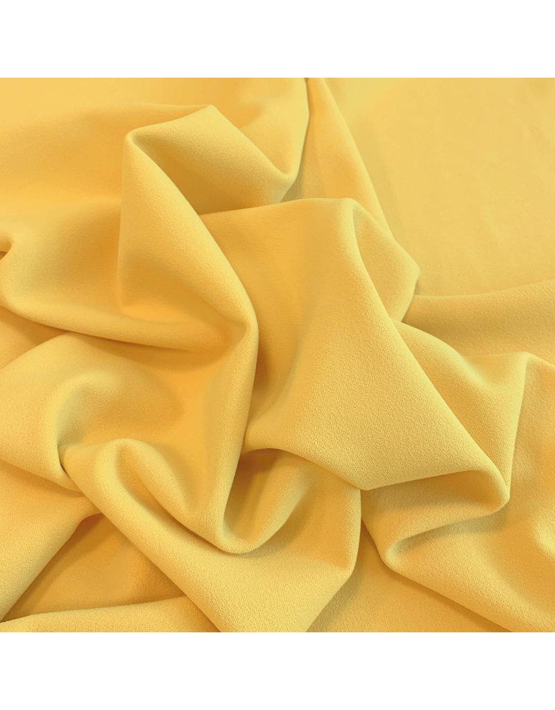 Crêpe Scuba CR20 - jaune été