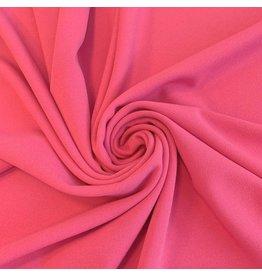 Crêpe Scuba CR21 - rose vif