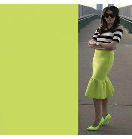 Crêpe Scuba CR31 - vert lime