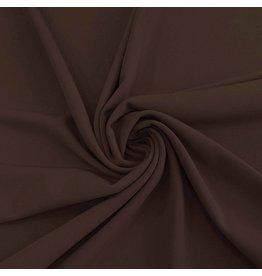 Scuba Crêpe CR35 - dark brown! NEW!