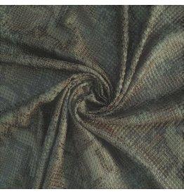 Imitation Snake Leather SL06 - mattes Armeegrün