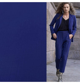 Terlenka Linnen Stretch TL08 - kobaltblauw