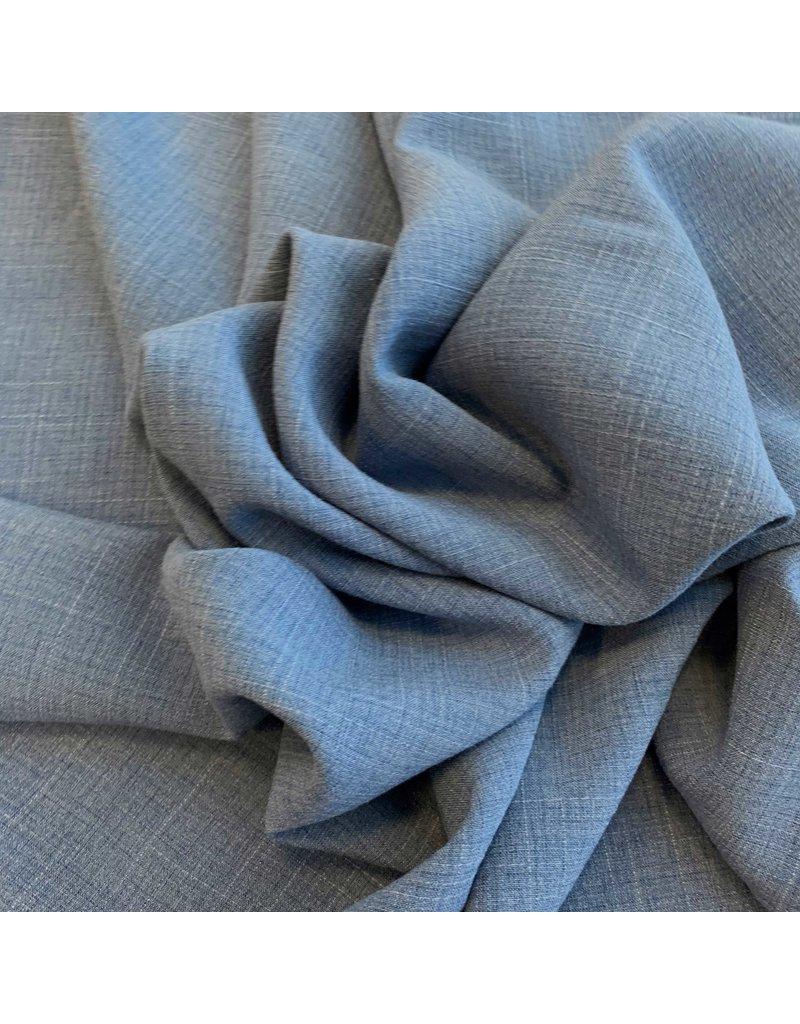 Terlenka Linnen Stretch TL12 - jeansblauw