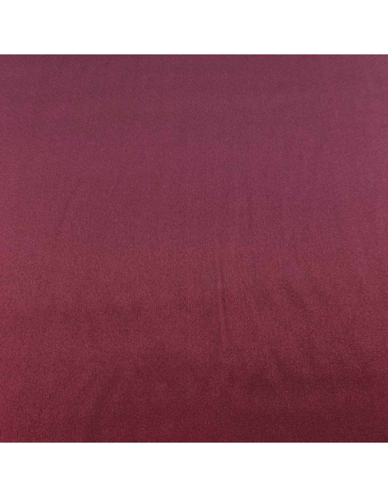 Stretch Zijde SD02 - bordeaux rood