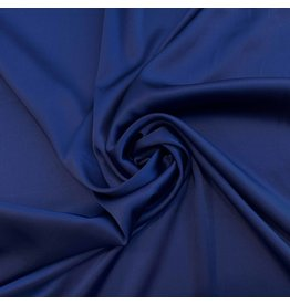Stretch Zijde SD03 - donker kobalt
