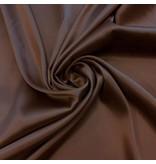 Stretch Zijde SD11 - chocolade bruin