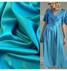 Stretch Zijde SD12 - turquoise