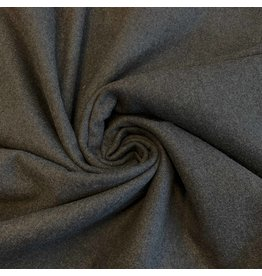 Tissu Manteau Laine KW18 - gris foncé