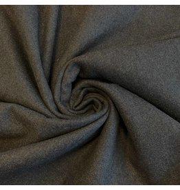 Wollen Mantel Stof KW18 - donker grijs