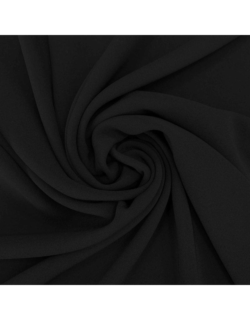 Scuba Crêpe 3341 - Zwart