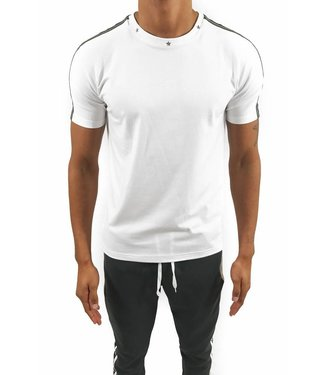 Explicit Track Tee White