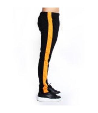 Radical Trackpants Black / Orange
