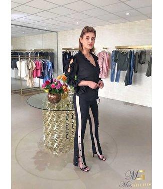 Goldie Estelle Blouse New Look Black