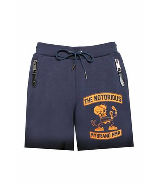 My Brand Kids Notorius Skelet Short Navy- Orange
