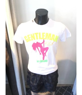 My Brand Shirt Gentleman Club White