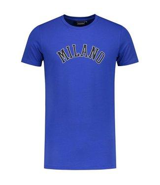 Angel&Maclean Blue Milano City T-shirt