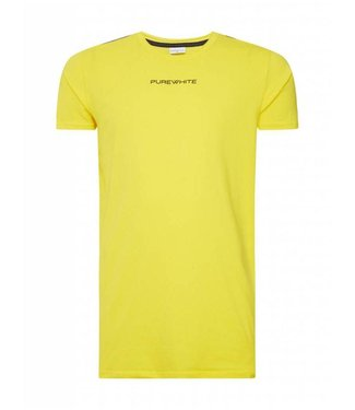 Pure White Fear Nothing T-Shirt Yellow