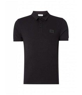 Pure White Essential Polo Black