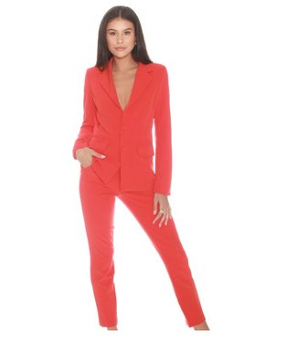 La sisters Suit Trousers Coral