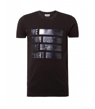 Pure White We Own The Night T-Shirt Black