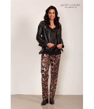 Jacky Luxury Trouser Print Flair Leopard