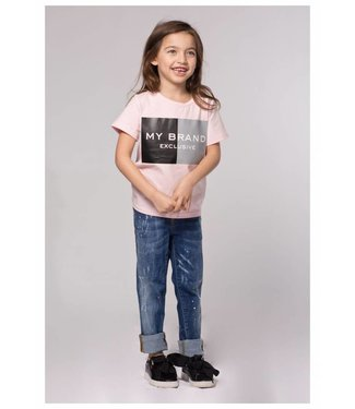 My Brand Isabella Spotted Jeans Blue