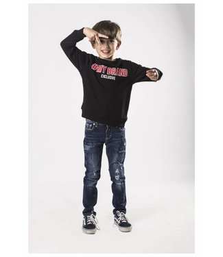 My Brand Hashtag Logo Sweater Black ( Boys )